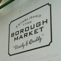 Borough turgus Londone. Trys priežastys kodėl verta aplankyti.