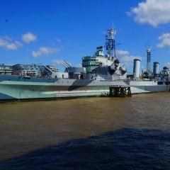 Kreiseris HMS Belfast – vieta Londone, kur galima išgyventi II -ojo pasaulinio karo emocijas